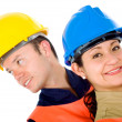 Royalty-Free Stock Photo: Couple of manual workers