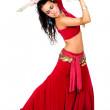 Arabic dancer with a sword — Stock Photo #7598734