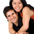 Young couple smiling — Stock Photo #7598749
