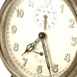 Royalty-Free Stock Photo: Old clocks face
