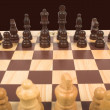 Chess set - Stock Photo