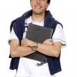 Stock Photo: Casual male student