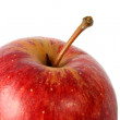 Stock Photo: Apple close up on top