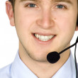 Friendly customer services — Stock Photo