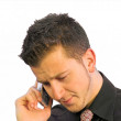 Business call - bad news — Stock Photo