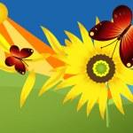 Beautiful summer illustration — Stock Photo #7633039