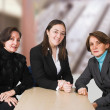 Business female management team — Stock Photo #7633140
