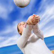 Beach volleyball - Foto de Stock