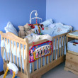 Stock Photo: Baby bedroom
