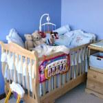 Baby bedroom — Stock Photo