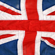 Great british flag - Stock Photo