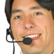 Customer services man - andres — Stock Photo