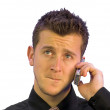 Business call - expecting bad news — Stock Photo #7633521