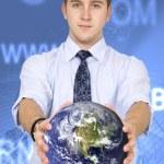 Business worldwide communications — Stock Photo