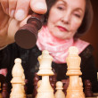 Business woman - make the right move — Stock Photo #7633864