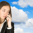 Business communications - sky — Stock Photo #7633879