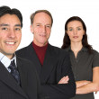 Stock Photo: Business team - fresh and experienced
