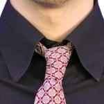 Business black suit — Stock Photo #7633972