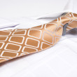 Brown business tie — Stock Photo