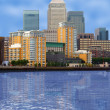 Stock Photo: Business village - canary wharf