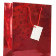Stock Photo: Christmas gift bag