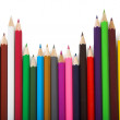 Colors - education statistics — Stock Photo