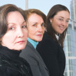 Stock Photo: Business female management team