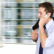 Business on the move - cell phone — Stock Photo #7634381