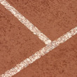 Stock Photo: Clay court