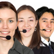 Customer service team — Stock Photo