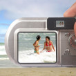 Digital camera taking picture — Stock Photo
