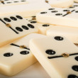 Abstract dominoes background — Stock Photo