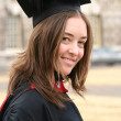 Royalty-Free Stock Photo: Female graduate