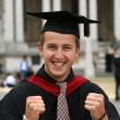 Graduation student - I did it! — Stock Photo #7634670