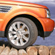 Orange 4 x 4 - Stock Photo
