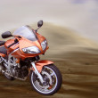 Desert Motorbike - Stock Photo