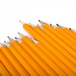 Stock Photo: Pencil race