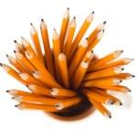 pennor inuti mugg — Stockfoto