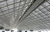 Abstract roof in paris airport — Stock Photo