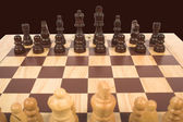 Chess set — Stock Photo