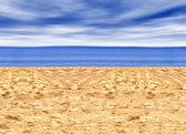 Schönen strand — Stockfoto