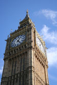 Big ben close up - london — Stock Photo