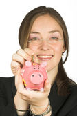 Zakelijke besparingen — Stockfoto