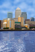 Business village - canary wharf — Stock Photo