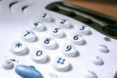 Close up of keypad — Stock Photo