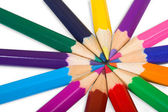 Color wheel close up — Stock Photo
