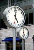şirket saatleri — Stok fotoğraf