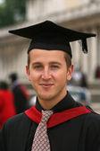 Graduating student portrait — Stock Photo