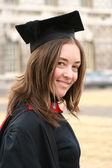 Kvinnliga akademiker — Stockfoto