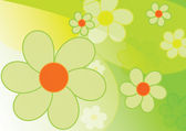 Beautiful spring background - flowers — Stock Photo